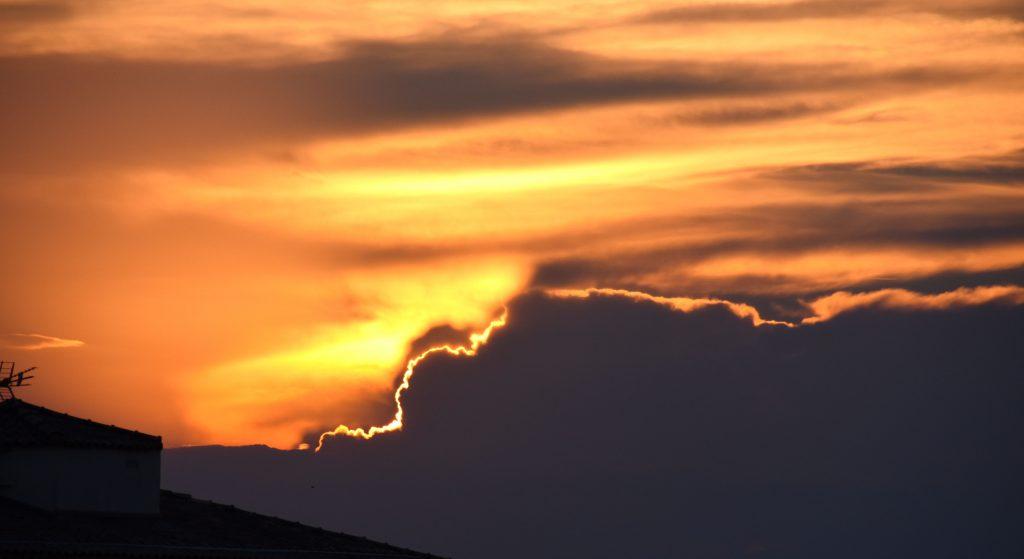 tramonto a Port Fréjus