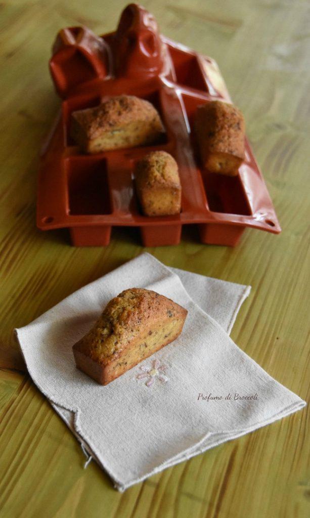 Mini plumcake cocco e cioccolato di Profumo di Broccoli