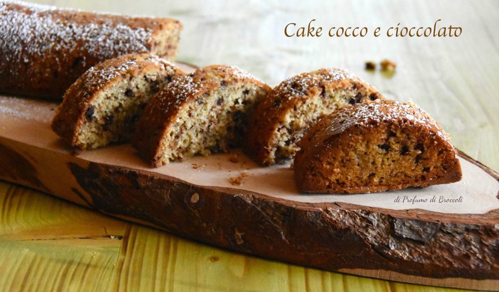 Cake cocco e cioccolato