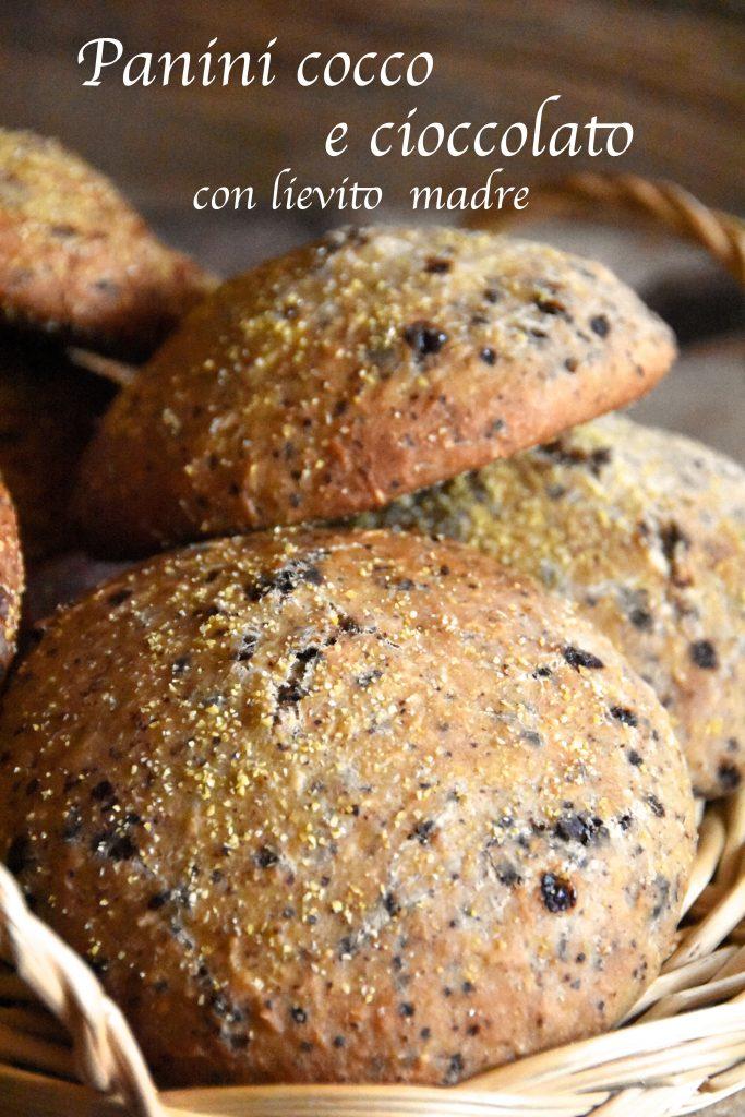 pane cocco e cioccolato