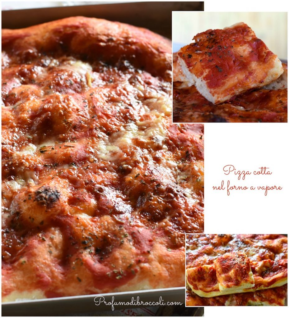 pizza al vapore