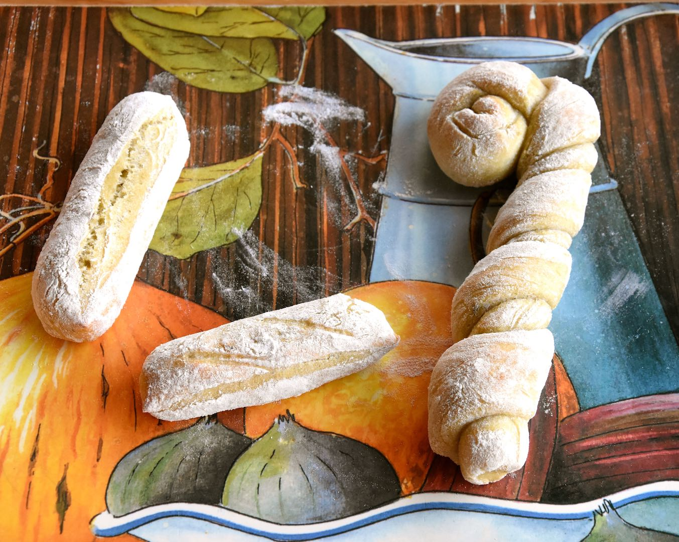 pane con asparagi