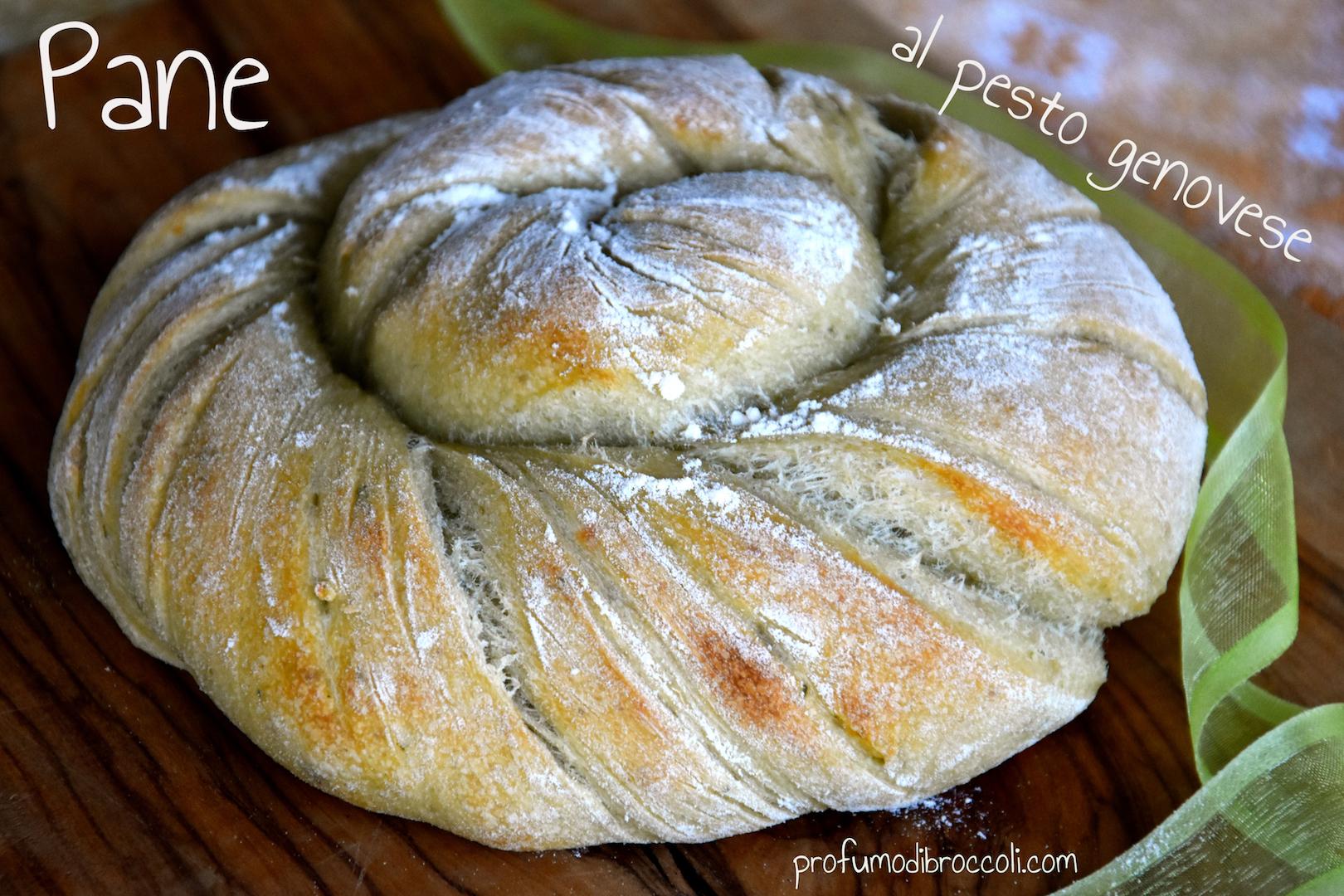 pane al pesto genovese