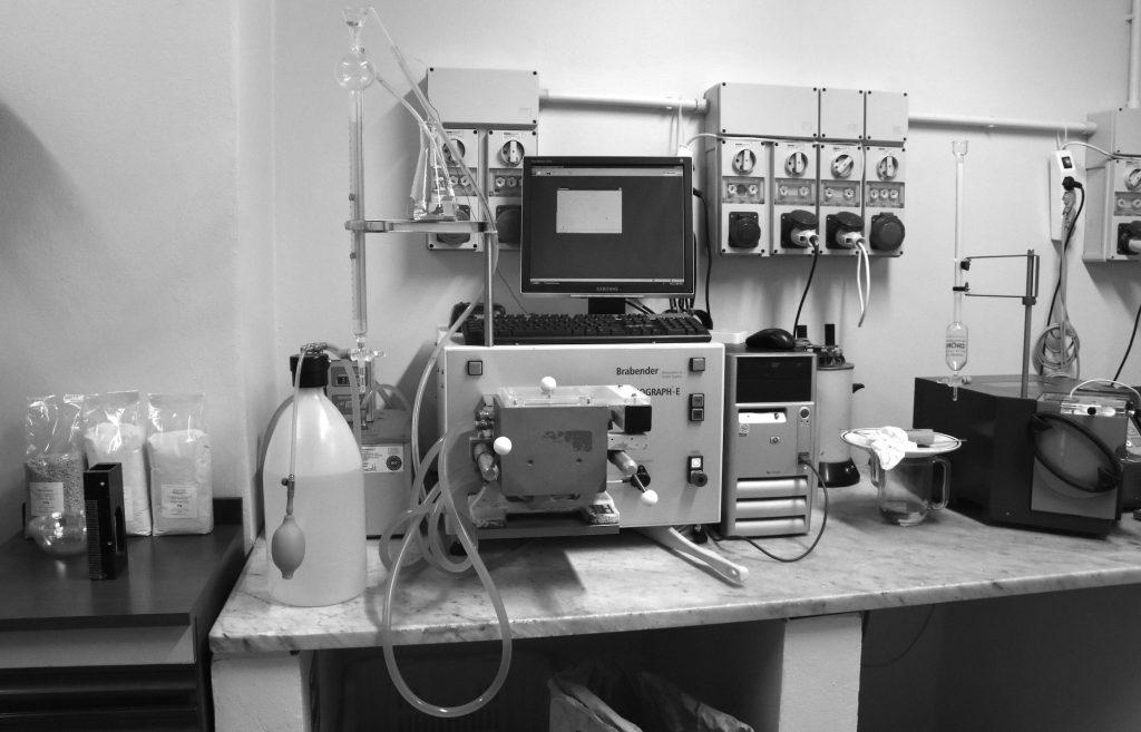 Alveografo farinografo