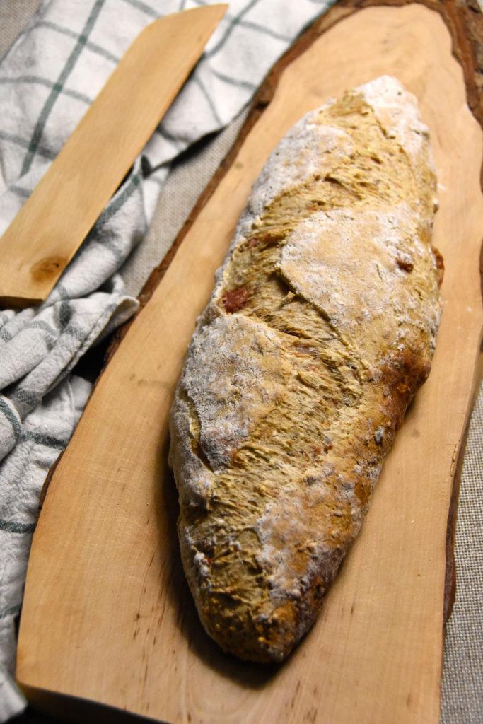 pane pancetta affumicata