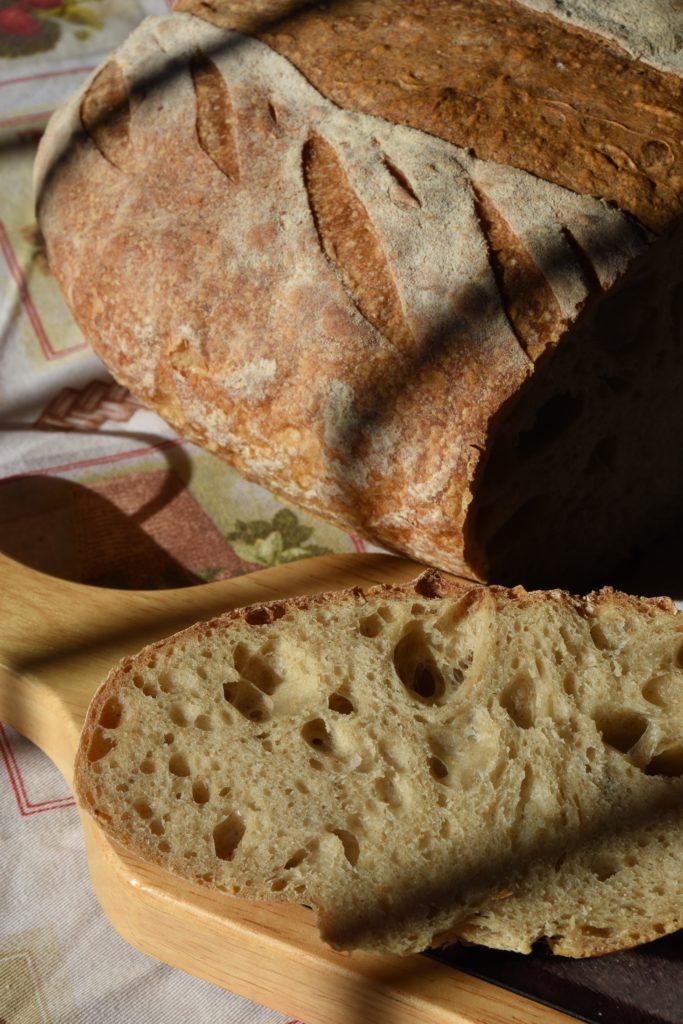 Pane di campagna con lievito madre liquido