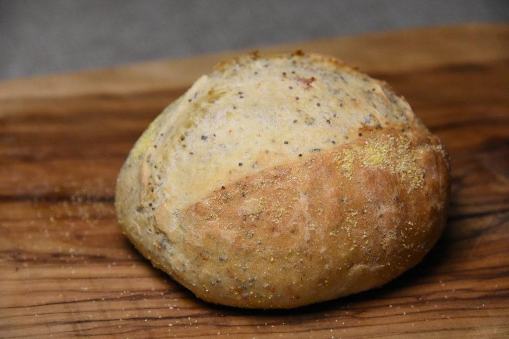 pane pancetta semi papavero
