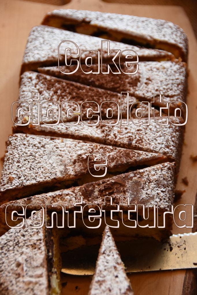 cake confettura cioccolato