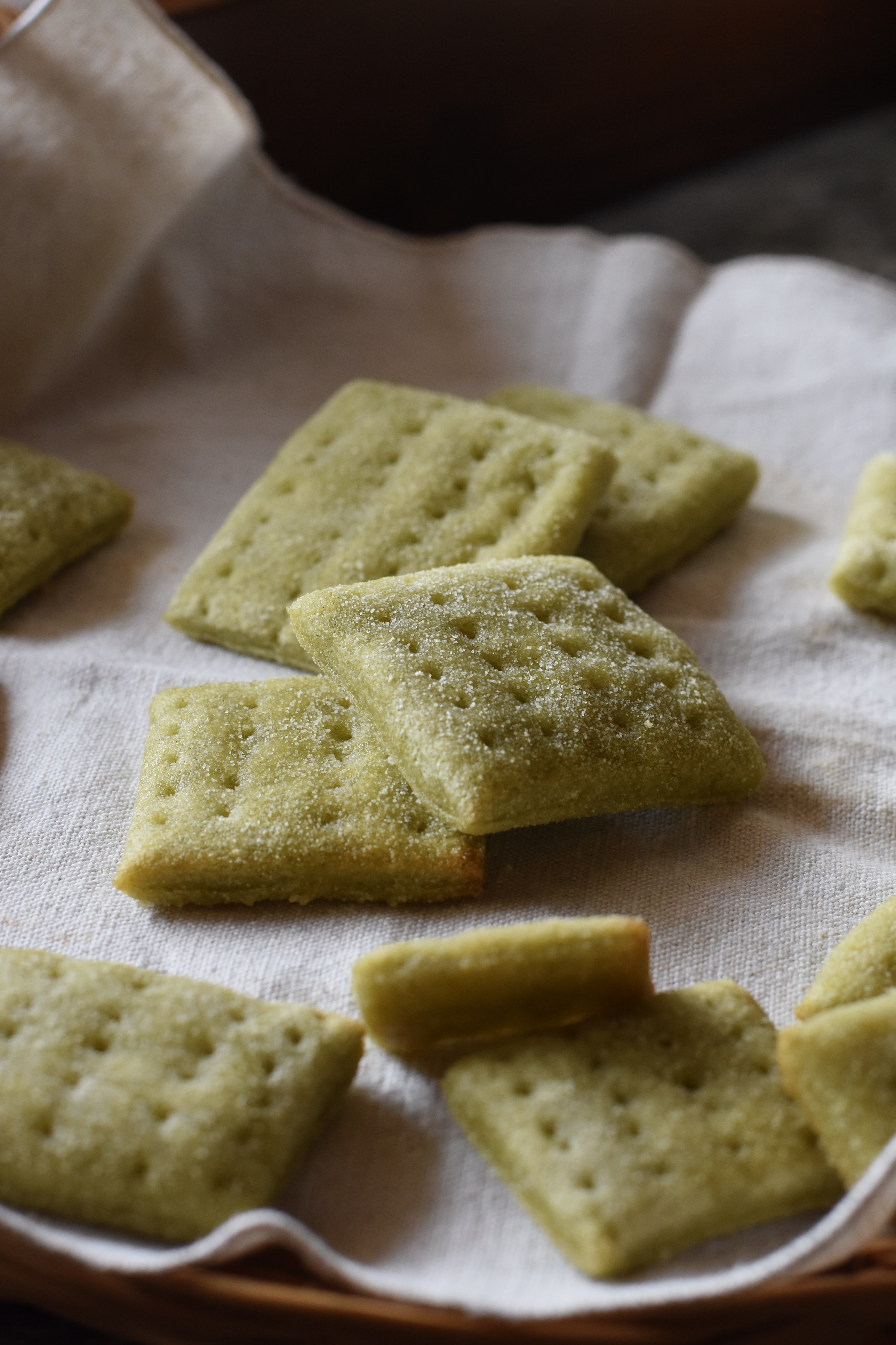 crackers spinaci lievito madre