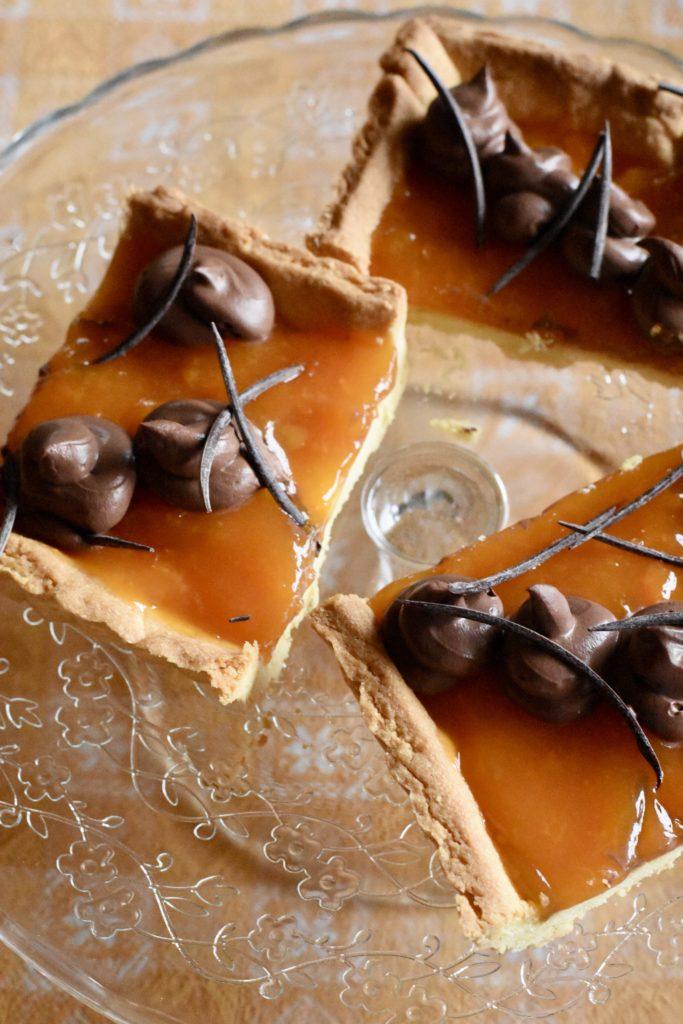 crostata arancia cioccolato
