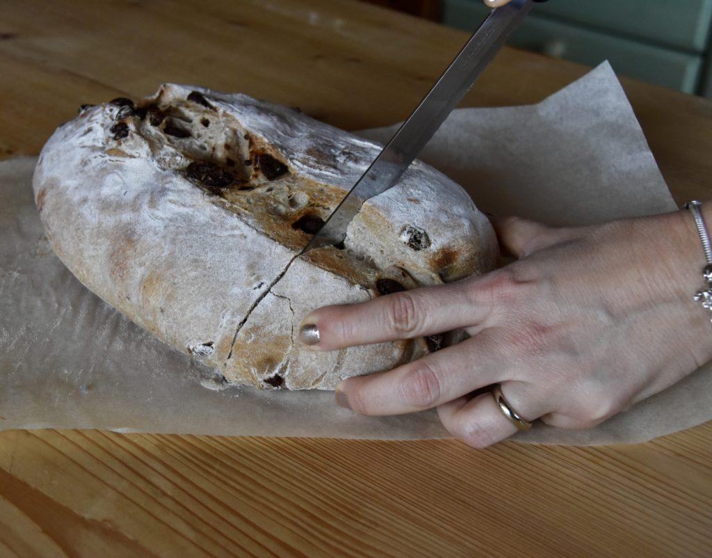 pane cioccolato uvetta