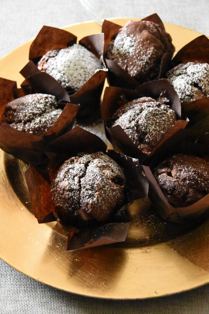 muffin cioccolato rosa