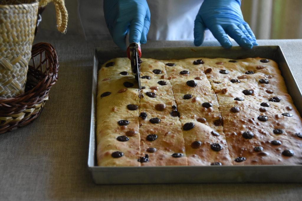 focaccia cioccolato