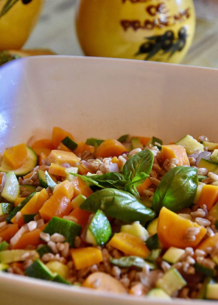 insalata farro verdure
