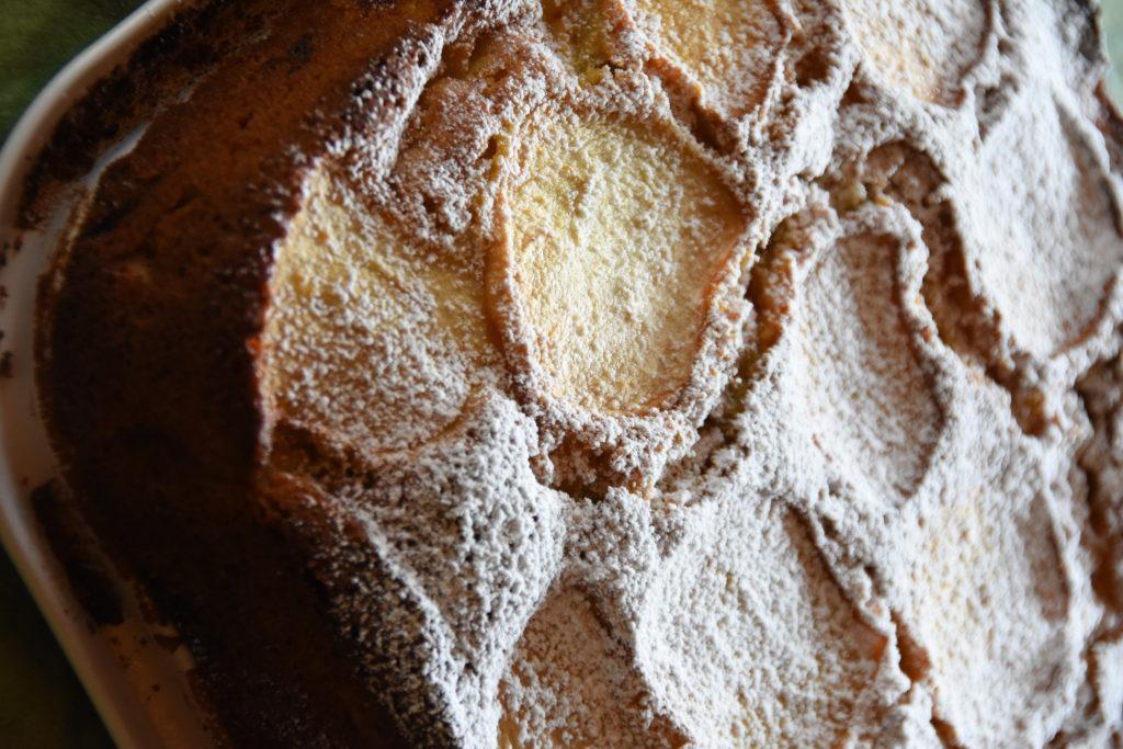 torta mele farina segale