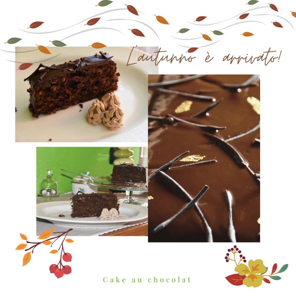 cake cioccolato glassato