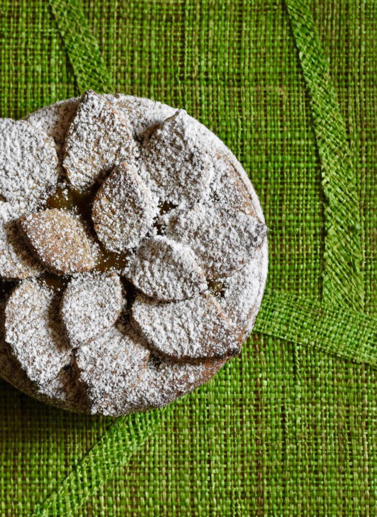 Crostata farina castagne pere