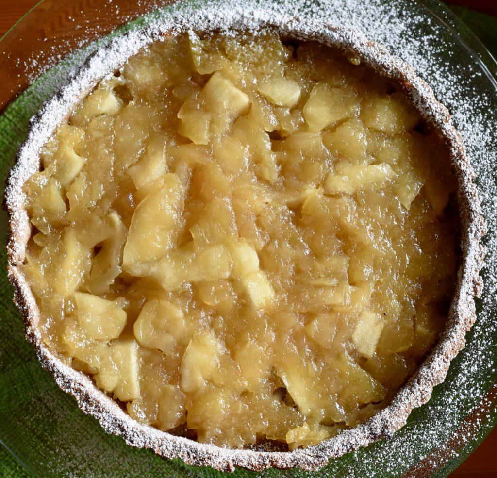 crostata farina castagne