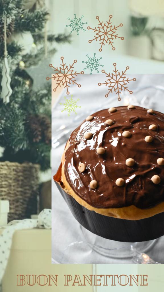 panettone cioccolato caramello