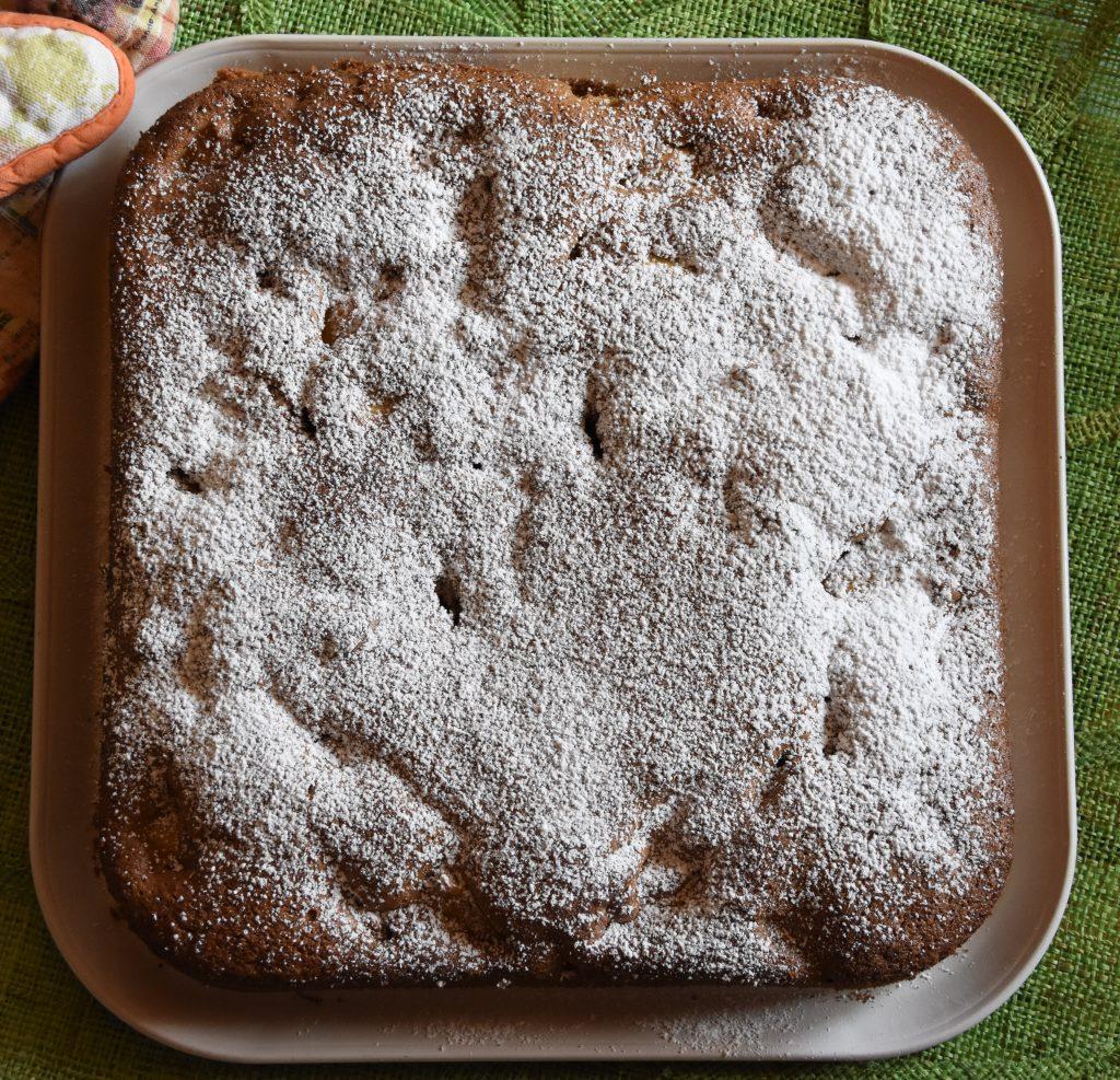 torta integrale castagne mele